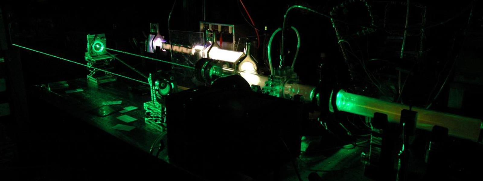 Gas Phase Laser Image