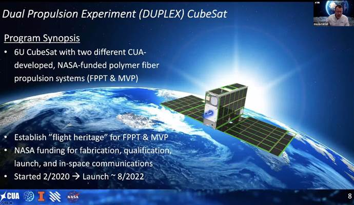 SmallSat 2020 CUA Overview